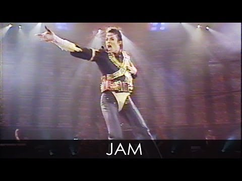 Michael Jackson - jam Live Dangerous Tour Argentina 1993 - Enhanced - Hd video