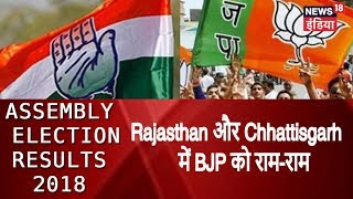 MP Election Results LIVE |  राजस्थान और छत्तीसगढ़ में कांग्रेस आगे, मध्य प्रदेश में कांटे की टक्कर