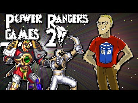Mighty Morphin Power Rangers Games 2 (Nintendo & Sega) - Cygnus Destroyer's Retro Reviews