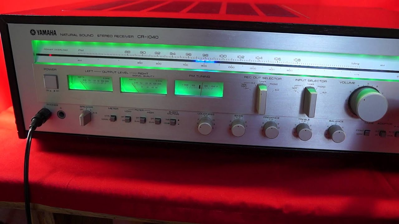 Yamaha Cr Stereo Receiver