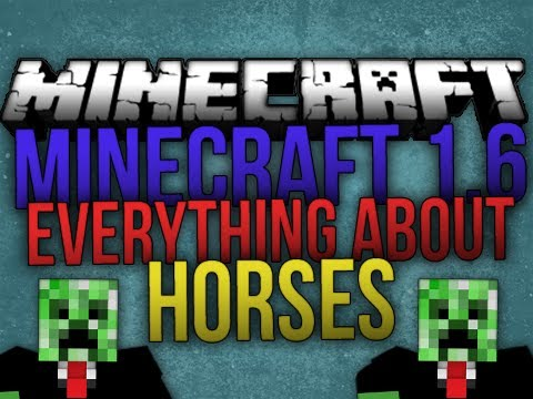 Minecraft 1.6.2: How to Breed Horses