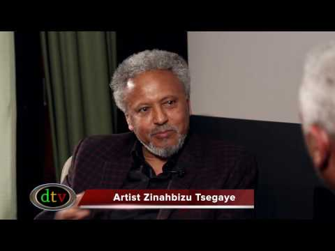 Meet with Legendary Ethiopian Artist Zinahbizu Tsegaye