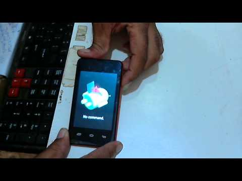 How To Hard Reset Micromax Bolt A58   Remove Gmail Pattern Lock