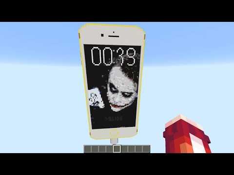 РАБОТАЮЩИЙ IPhone 6S в Майнкрафте БЕЗ МОДОВ ! - MINECRAFT КАК СДЕЛАТЬ ДЛЯ ДЕТЕЙ | ДЕТИ KIDS ДЕВУШКА
