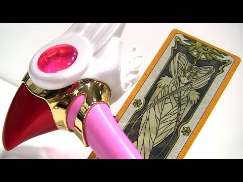 ARR - Takara Tomy Cardcaptor Sakura Interactive Sealing Staff Review. All Sounds and Translation