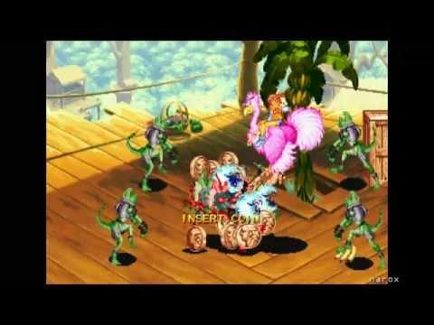 Battle Circuit / arcade attract mode / Capcom 1997