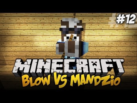 Blow VS Mandzio - MANDZIO WYCZAROWUJE DIAXY + NOWY SKIN MANDZIA - S01E12 (Single Block Challange)