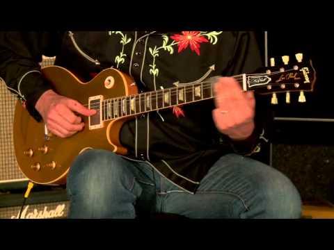 Gibson Custom Shop Lee Roy Parnell Signature Les Paul Goldtop VOS• SN: LRP068
