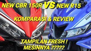 Yamaha R15 NEW vs Honda CBR 150 NEW, Kupas Tuntas Pilih mana ???