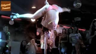 Hot Pole Dance In Night Club