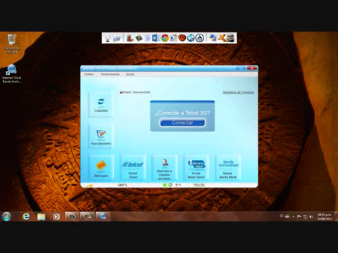 tutorial internet gratis banda ancha telcel 2013