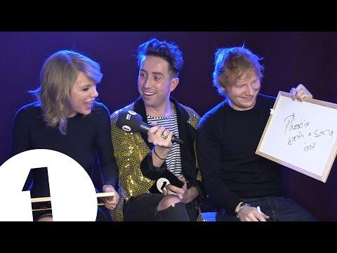 Download Ed Sheeran and Taylor Swift play Eds or Taylz? Mp4 baru