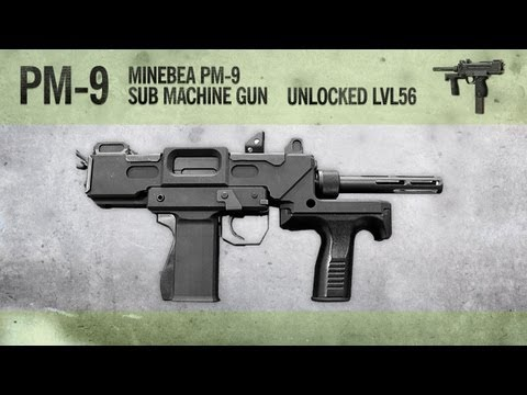 PM-9 : MW3 Weapon Guide, Gameplay & Gun Review