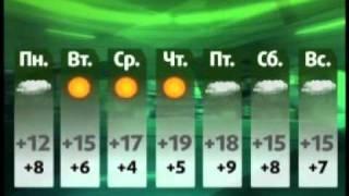Погода на неделю (NotaBene 23.09.11)