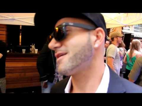 Karl Wolf interview at MMVA Field Party 2012