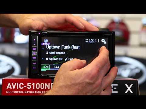 Pioneer's new AVIC 5100NEX Navigation multi media radio un boxing