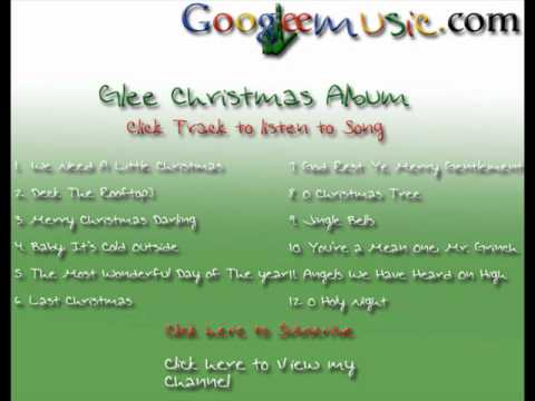 Glee you re a mean one mr grinch cast version with lyrics from
