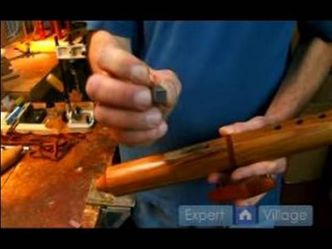How to Make a Native American Flute : Maintaining a Good Sound in Native American Flutes