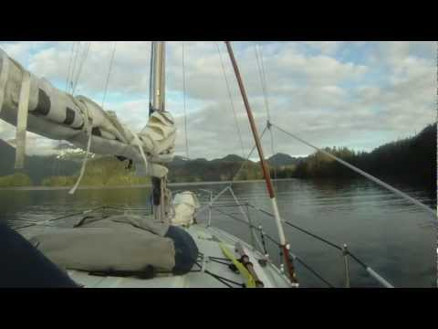 Cruising Lealea in Alaska-Sitka to Whale Bay