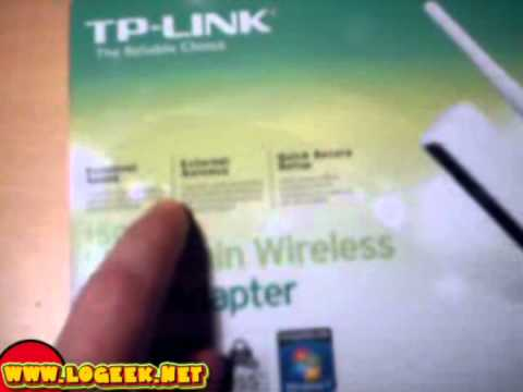[PARTE 1 de 2] Adaptador USB WIRELESS TP-LINK TL-WN722N - www.logeek.net