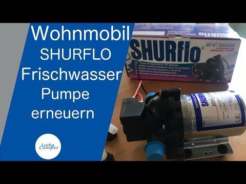 Wohnmobil   Frischwasserpumpe erneuern   Shurflo   DIY   Lucky Camper