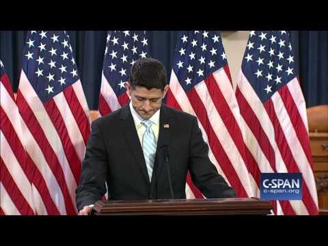 Speaker Paul Ryan speech on the State of American Politics (C-SPAN)