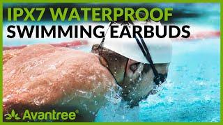 IPX7 Waterproof earphone for swimming   Avantree TR509 2