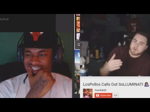"SoLUMINATI Reacts to LosPollos ""Calling Him Out"" thumbnail"