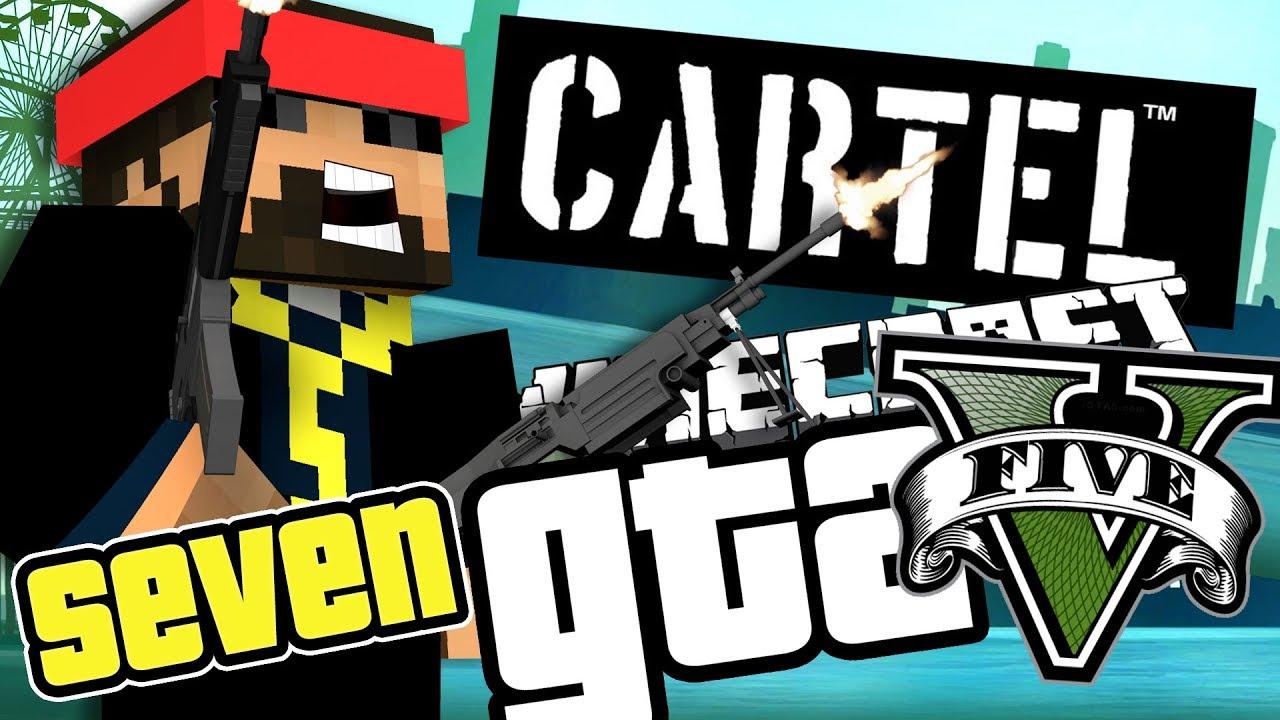Minecraft GTA 5: JOBS FOR THE GTA CARTEL?! [7]