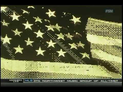 Mike McCready - Star-Spangled Banner, 05.19.09, Safeco Field, Seattle, WA