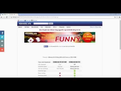 Hướng Dẫn Get Link 4share Max Speed Từ Links Vip Service video