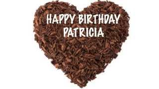 Patricia    english pronunciation   Chocolate - Happy Birthday
