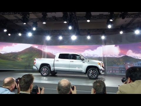 2014 Toyota Tundra Pickup Debuts at the Chicago Auto Show