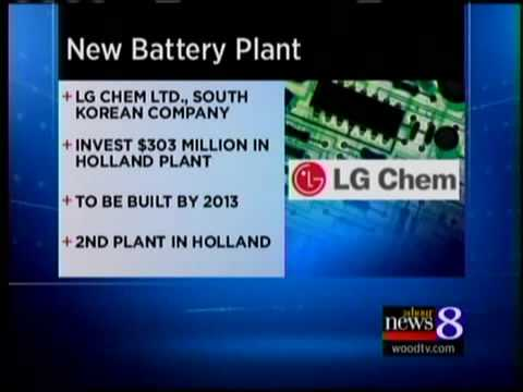 LG Chem to build plant in Holland