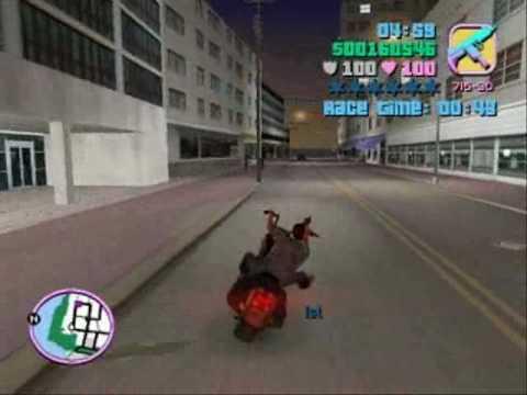 GTA Vice City / Missão 35 - Corrida de Moto