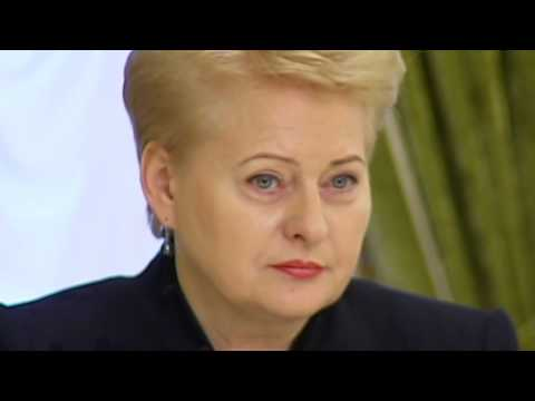 Lithuanian Military Aid for Ukraine: Lithuanian President Dalia Grybauskaite visits Kyiv