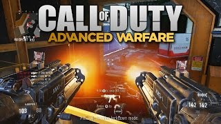 AKIMBO LMGs in Call of Duty: Advanced Warfare! (XMG Multiplayer Gameplay)