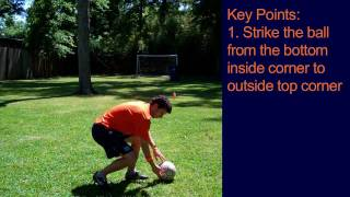 How To Bend a Soccer Ball - Online Soccer Academy
