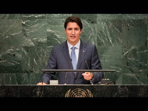 Justin Trudeau at the United Nations  Full UN speech from Canadas prime minister