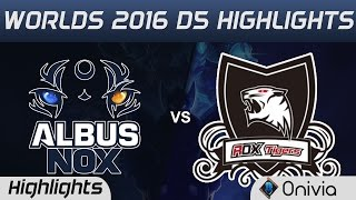 ANX vs ROX Highlights Worlds 2016 D5 Albus Nox Luna vs ROX Tigers