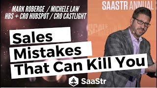 Sales Mistakes that Can Kill Your SaaS Business & How to Avoid Them