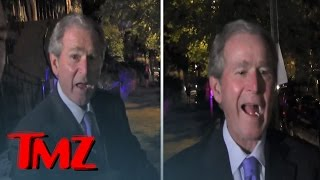 George W. Bush -- Kanye For President? That's Pretty Damn Funny