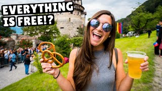 LIECHTENSTEIN CASTLE PARTY (hanging out with the PRINCE)