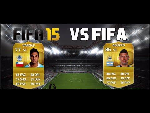 FIFA 15   VS FIFA   Sergio Aguero vs Eduardo Vargas