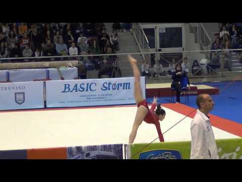 Maggie Nichols (USA) 2013 Jesolo - EF FX 2nd place