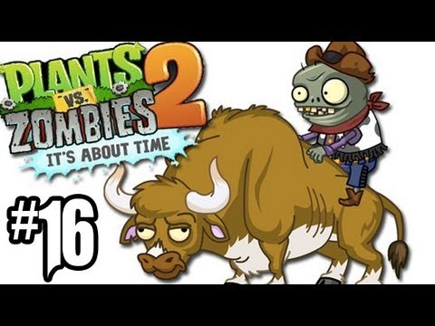 Plants vs. Zombies 2 Gameplay Walkthrough - Part 16 - Wild West Day 4. 5!! (Gameplay HD)