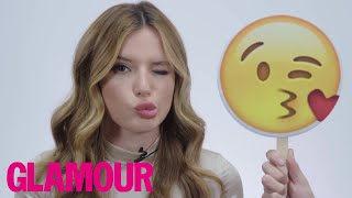 Bella Thorne Recreates 25 Emojis (and She's Amazing) l The Spotlight l Glamour