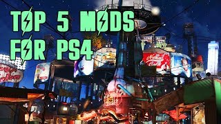 Top 5 Mods of the Month for Fallout 4 on PS4 #5