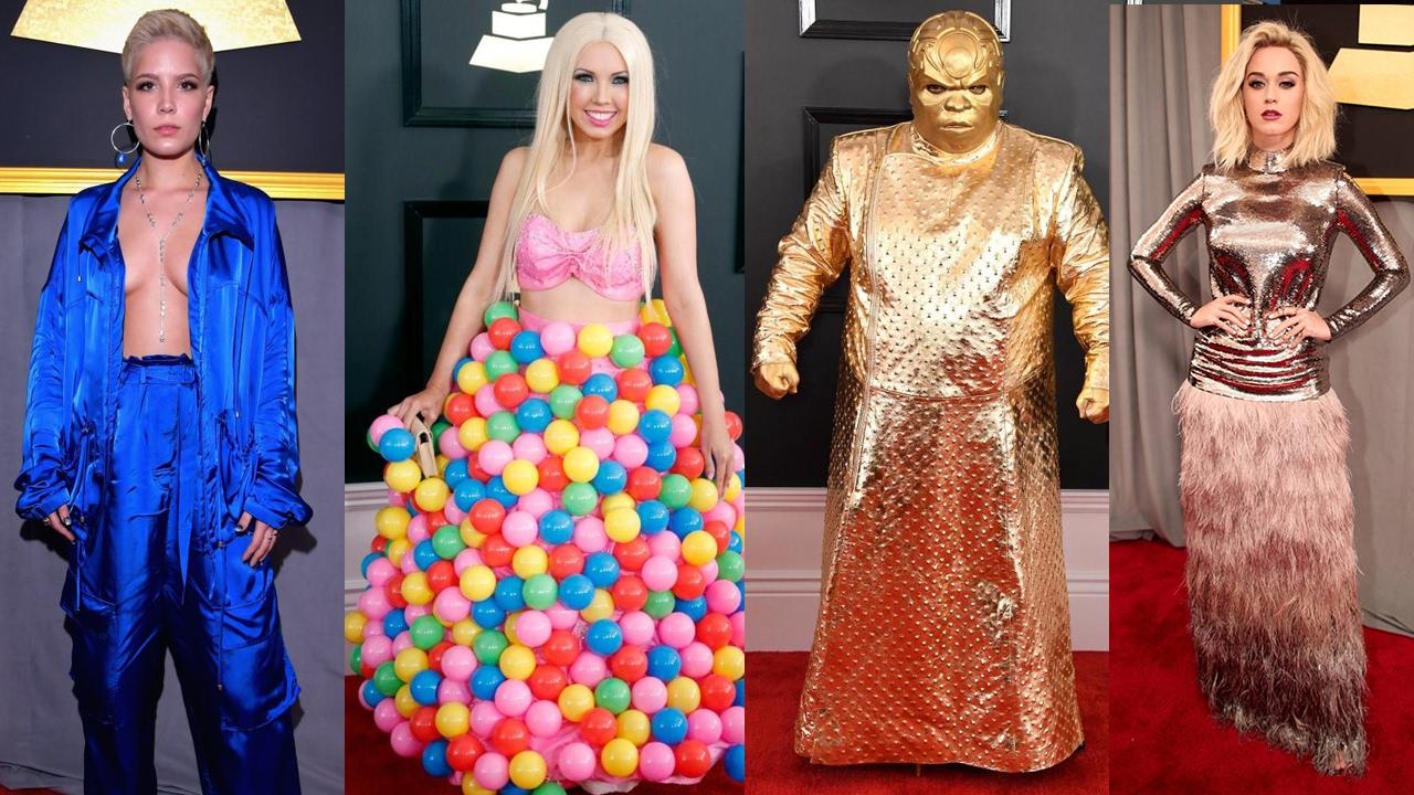 10 Worst Dressed Celebrities At Grammy Awards 2017 Red Carpet || Pastimers