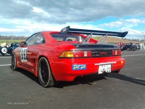 MR2 Australia 5SGTE Powered JDM SW20 at Eastern Creek South Circuit   Session 2 FOSC